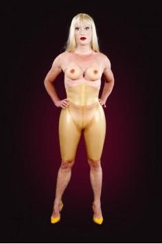 Inflatable figure pants