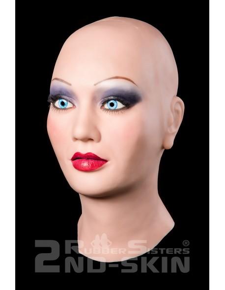 """Silicone female mask """"Gloria"""""""