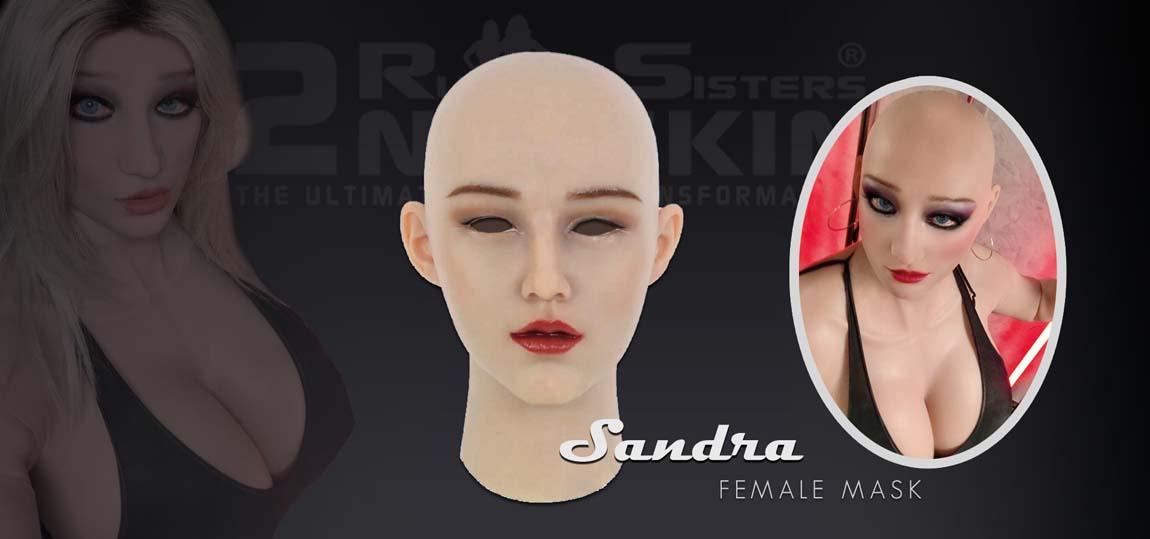silicone female mask Sandra