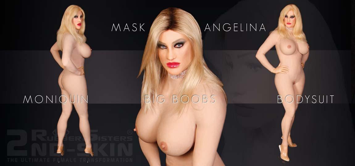 Frauenmaske Angelina