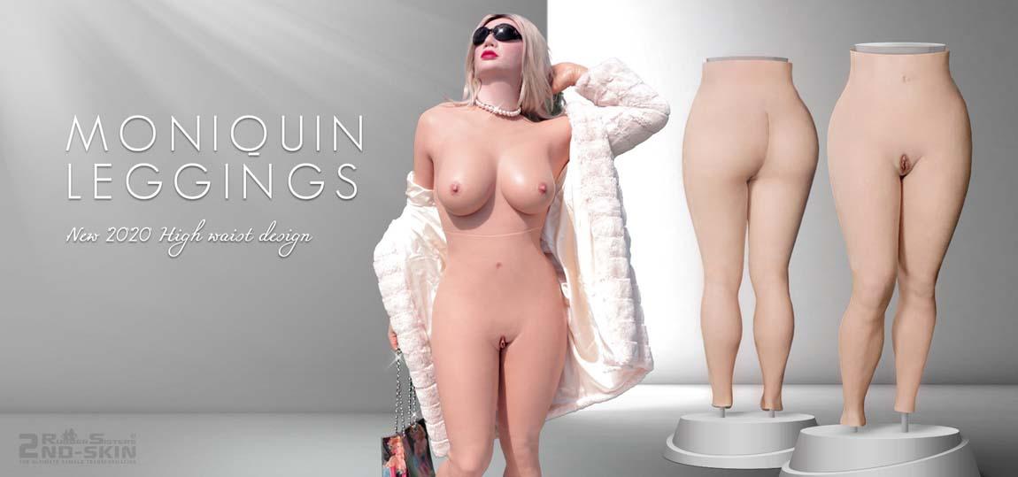 silicone leggings