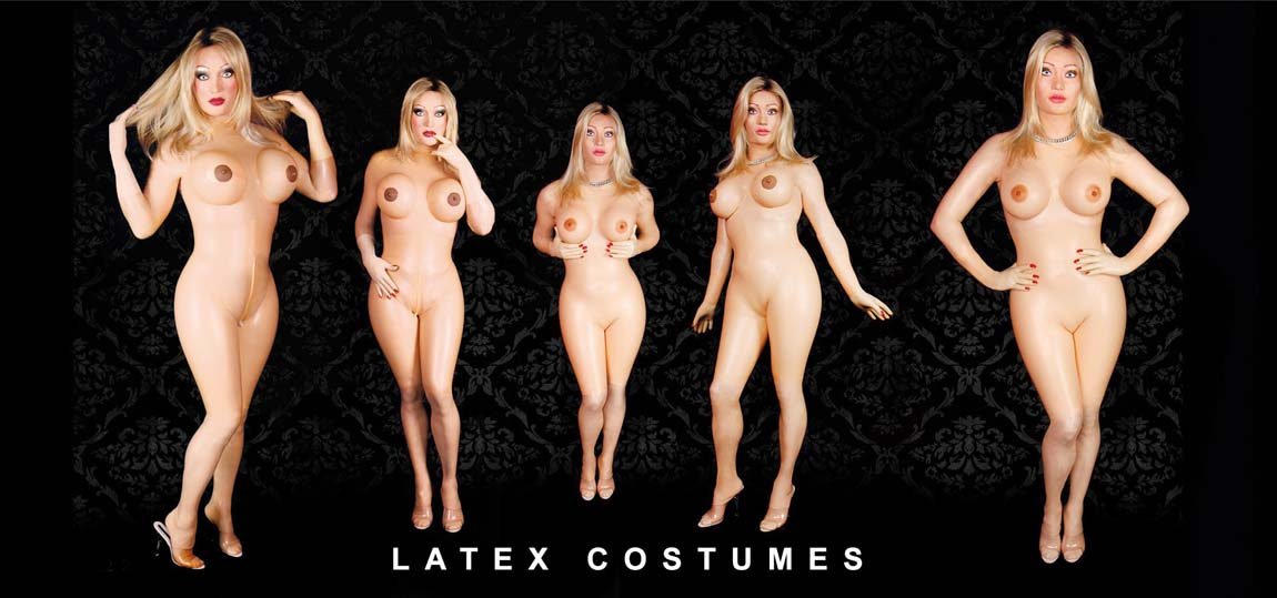 latex costumes, catsuit